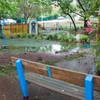 The playground at Milton Park, 28 January 2013.