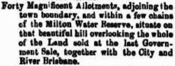 Clipping from The Courier, 17 October 1862, page 3.