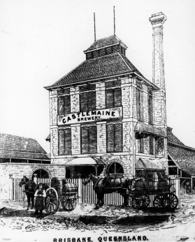 The Castlemaine Brewery at Milton in 1879.