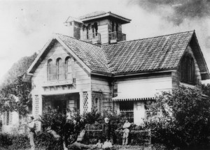 'Dunmore', residence of the late Robert Cribb, 1886 (State Library of Queensland, Negative number: 16165)