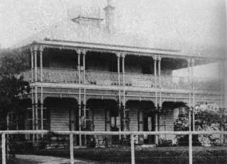 John George Cribb's residence, Fairholme.
