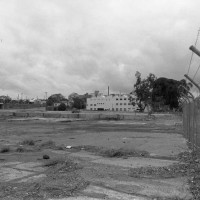 The site in 1980 after the transport depot had closed.