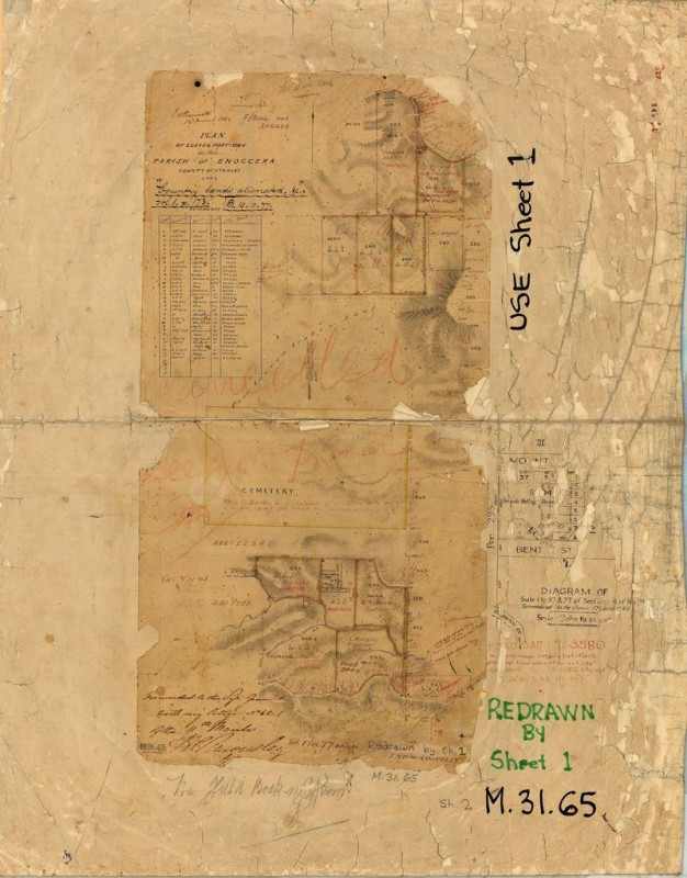 Survey Plan M.31.65 (Sheet 2), held by the Queensland Museum of Lands, Mapping and Surveying. This is the original version of the plan.