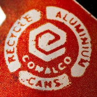 The Comalco logo on the Export Cola can