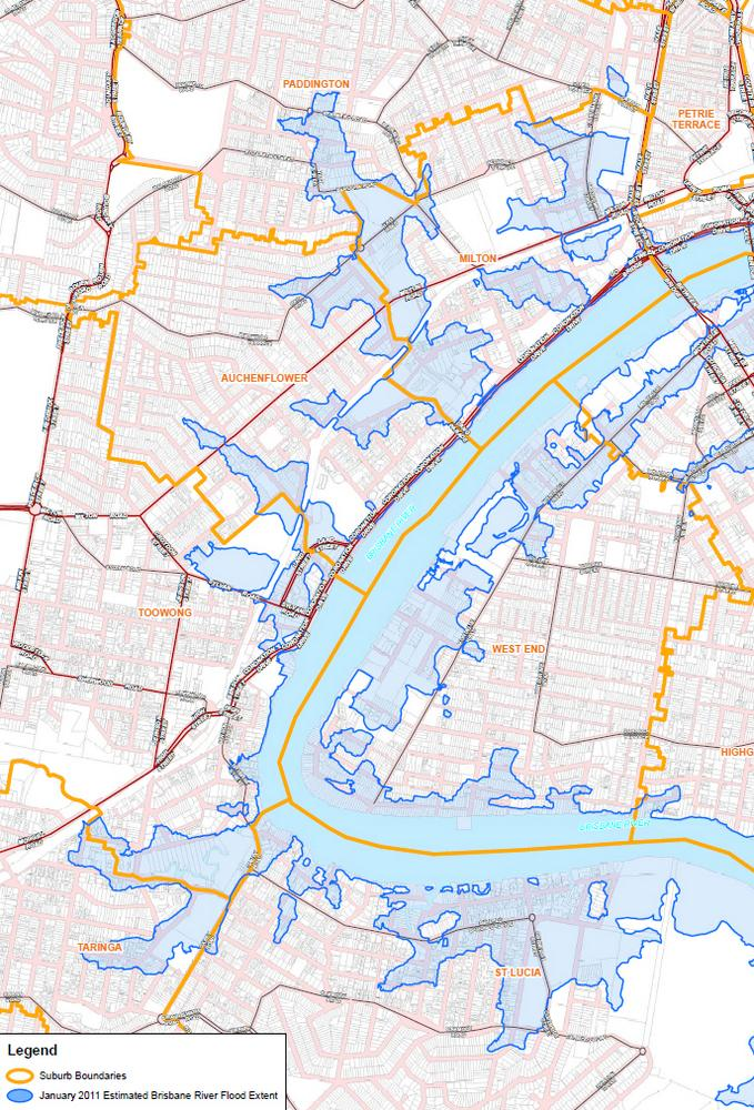 The Lost Creeks Rise Again There Once Was A Creek - Flood line map