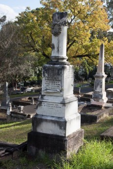 The grave of Elizabeth's brother, Henry Harris Dodd.
