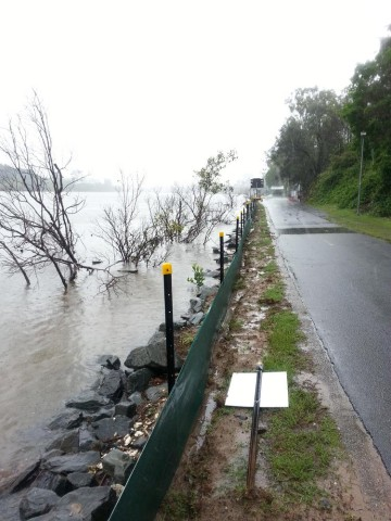 The Brisbane River at Auchenflower, 27 January 2013.