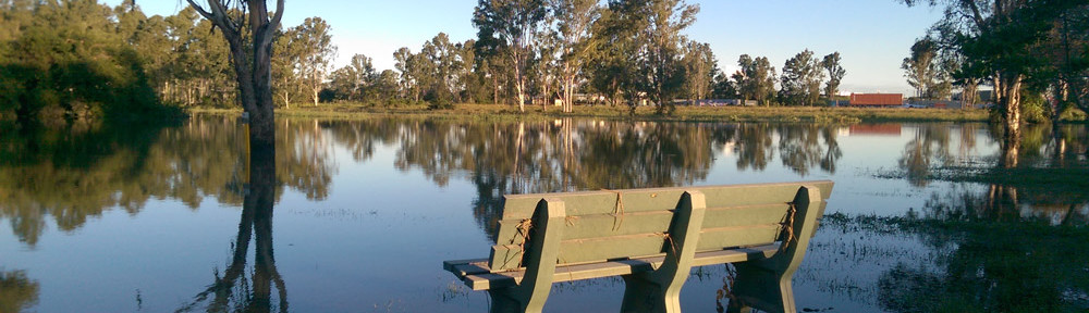 Kookaburra Park, Rocklea, at 4:43pm, Saturday 2 May.